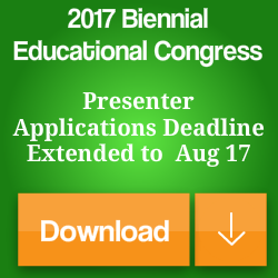 AFMTE 2017 Educational Congress Presenter App Extension