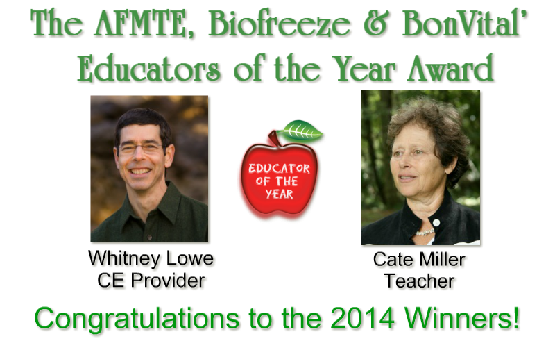 Educators of the year awared winner 2014 announcement