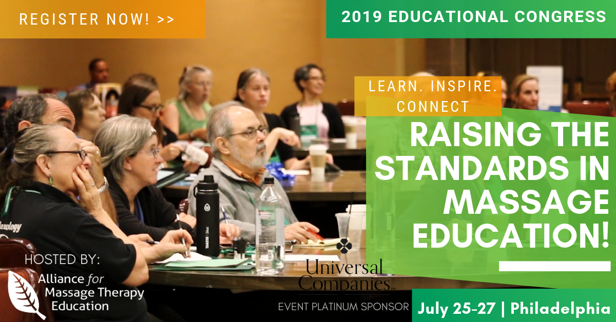 2019 Educational Congress | Alliance for Massage Therapy
